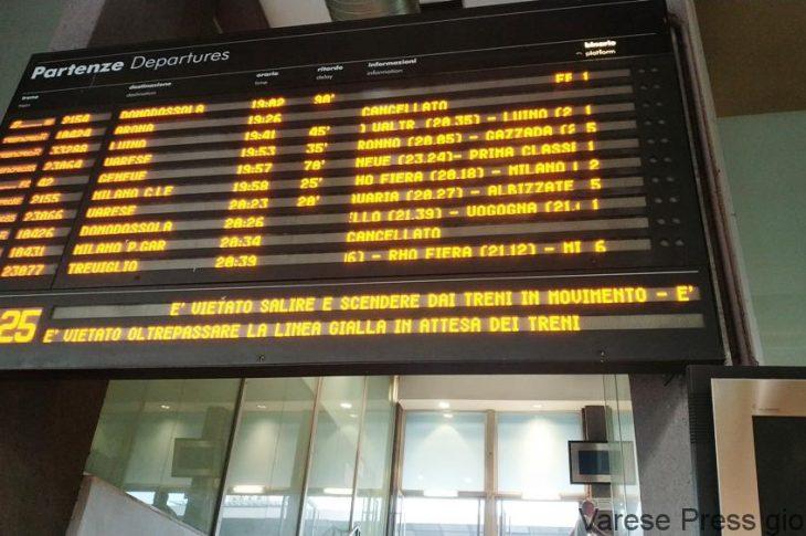 Treni: emergenza caldo