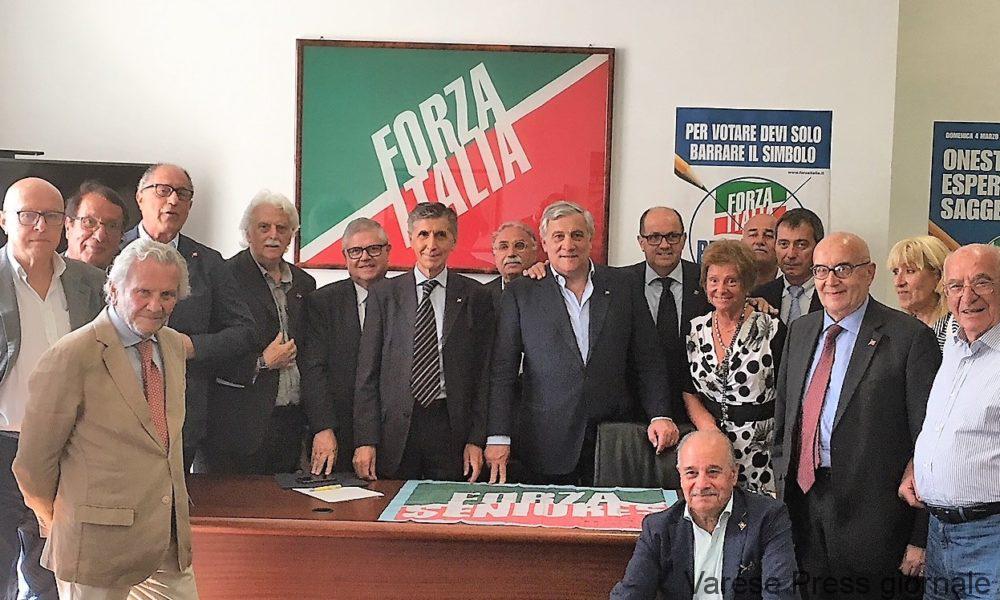 Roma: riunione dei Seniores di Forza Italia
