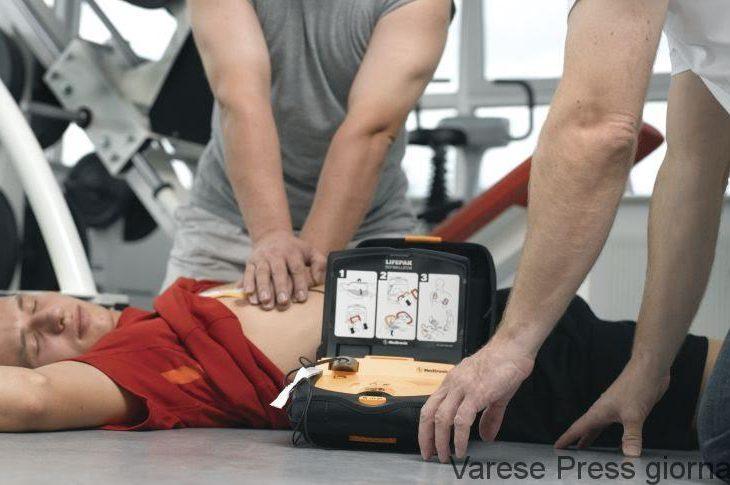 Nuove disposizioni in materia di utilizzo dei defibrillatori