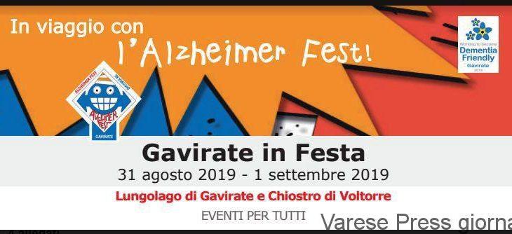 Gavirate: In Viaggio con l'Alzheimer Fest 2019
