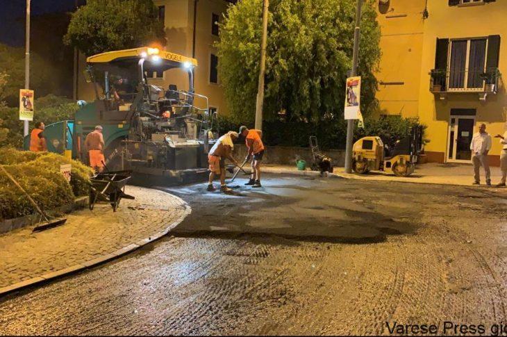 lunedì riprendono i lavori di asfaltatura in città