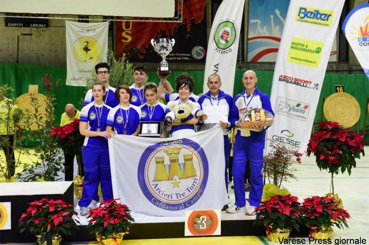 Gli Arcieri Tre Torri conquistano il terzo posto alla Coppa Italia Centri Giovanili