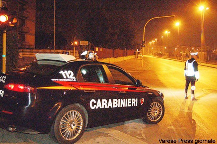 """Varese: i carabinieri intensificano i controlli alla """"movida"""""""