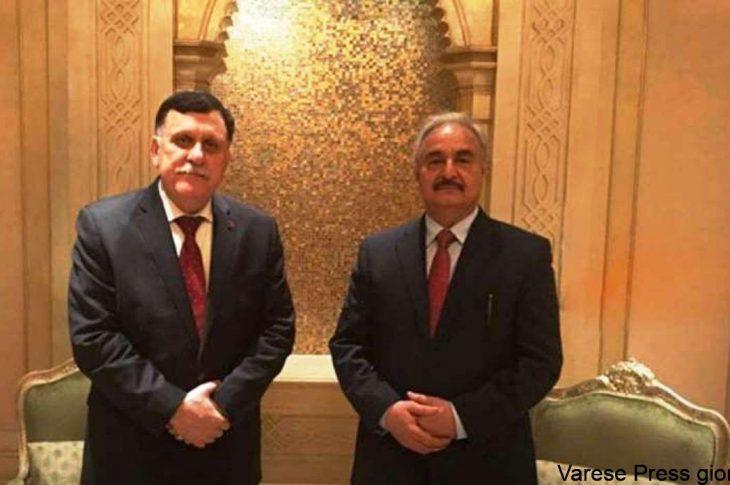 Putin ha convocato Khalifa Haftar e Fayez al Sarraj