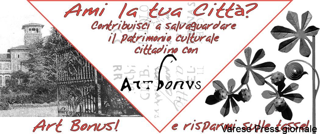 Busto Arsizio: l'Art Bonus è diventato un modello in tutta Europa